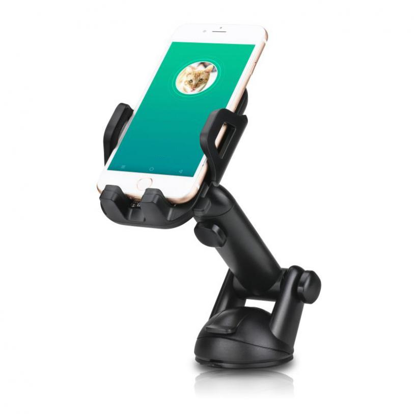 1904fc3029a6cd Premium Car Mount Dash Windshield Phone Holder Window Rotating Dock Strong  Grip Suction